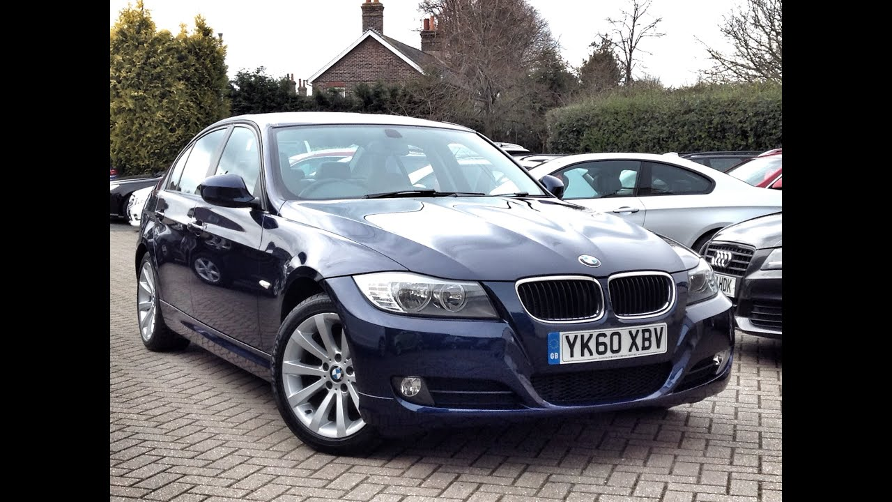 bmw 3 series 2 0 318d se business edition 4dr sold at cmc cars near brighton sussex youtube. Black Bedroom Furniture Sets. Home Design Ideas