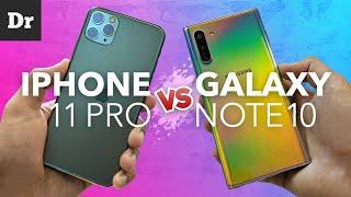 Сравнение: iPhone 11 Pro vs Galaxy Note 10. Что выбрать?