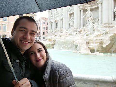 VLOG: ¡Rumbo a Roma!+Fontana de Trevi, Piazza Spagna y Pantheon (7 y 8 noviembre)