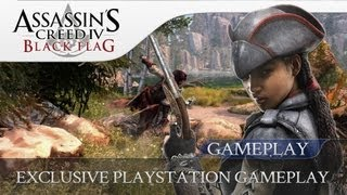 Assassins Creed 4 Black Flag | Aveline Gameplay Footage  (PS3 & PS4 Exclusive)