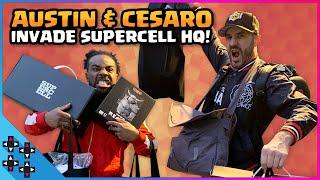 AUSTIN & CESARO INVADE SUPERCELL HEADQUARTERS!!!