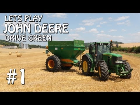 Lets Play John Deere Drive Green - Ep 1