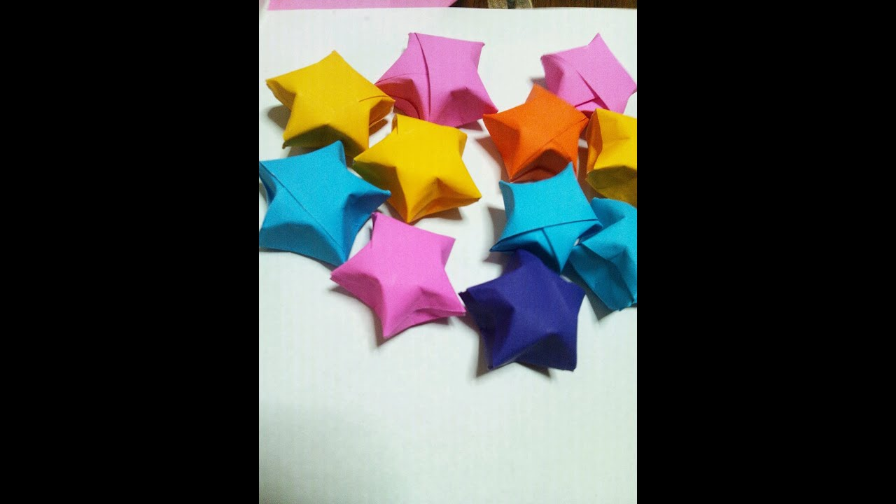 折り紙 ラッキースター 折り方 How to fold origami lucky star | Doovi - photo#25