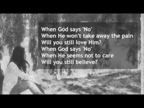When God Says 'No'
