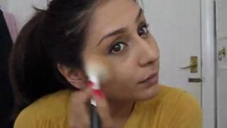 Foundation Routine using Kryolan Tv Paint Stick FS29|| Raji Osahn