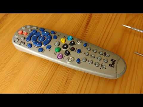 Disassembling and Cleaning Bell/Dish PVR Remote Controller 168588