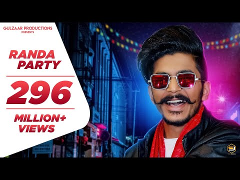 GULZAAR CHHANIWALA - RANDA PARTY ( Official Video ) | Latest Haryanvi Song 2020