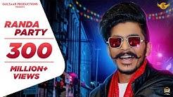 GULZAAR CHHANIWALA - RANDA PARTY ( Official Video )   Latest Haryanvi Song 2020