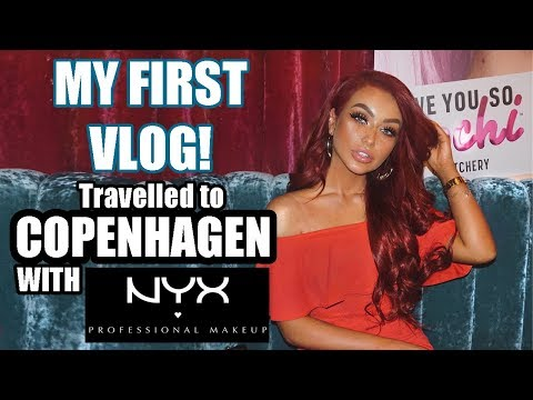 MY FIRST VLOG! - Went to COPENHAGEN with NYX Professional Makeup