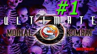 Mortal Kombat 3 Ultimate / A las trompadas con Noob Saibot / Sega Genesis