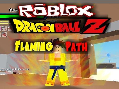 dragon ball flaming path roblox