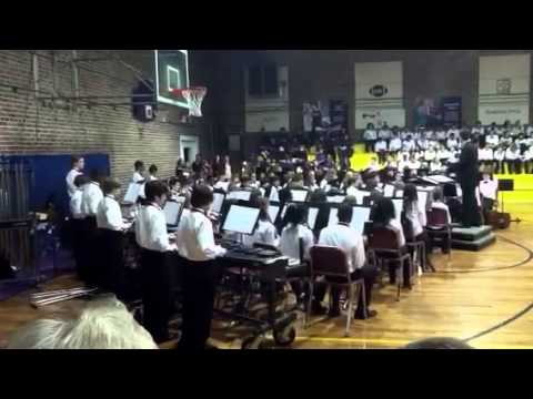 Rollings Middle School of the Arts  Christmas concert