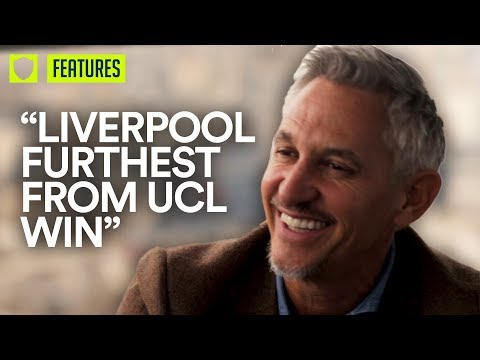LIVERPOOL LEAST LIKELY TO WIN CHAMPIONS LEAGUE SAYS GARY LINEKER