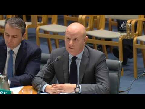 Adam questions Comm Bank CEO on climate