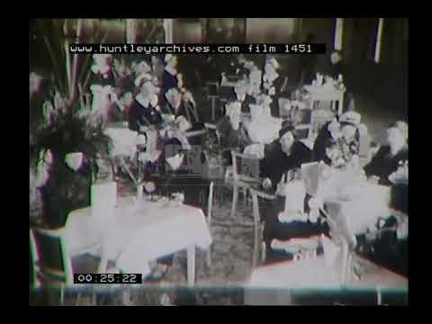 Advertisments for the State Kilburn cinema, 1930's. Archive film 1451