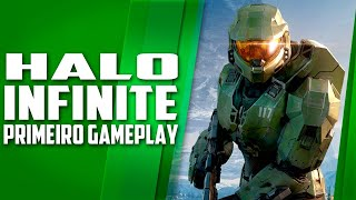 Halo Infinite PRIMEIRO gameplay