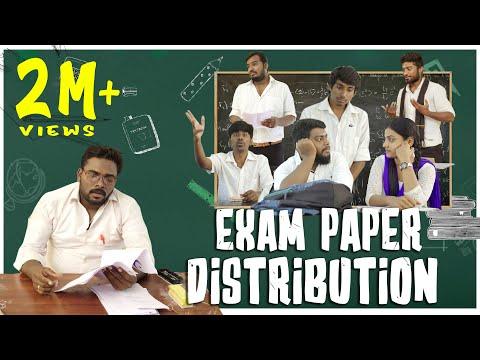 Exam Paper Distribution | School Life - Part 1 | Veyilon Entertainment