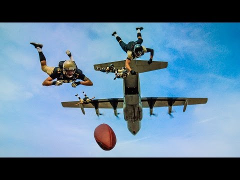 Worlds Longest Touchdown Catch! | DEVINSUPERTRAMP