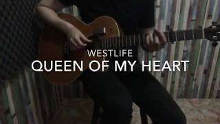 Queen of My Heart - Westlife - Fingerstyle Guitar Cover ( short )