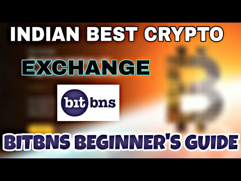 Bitbns Indian Crypto Exchange : Guide For Beginner's.Trade Multi Crypto Assets With INR