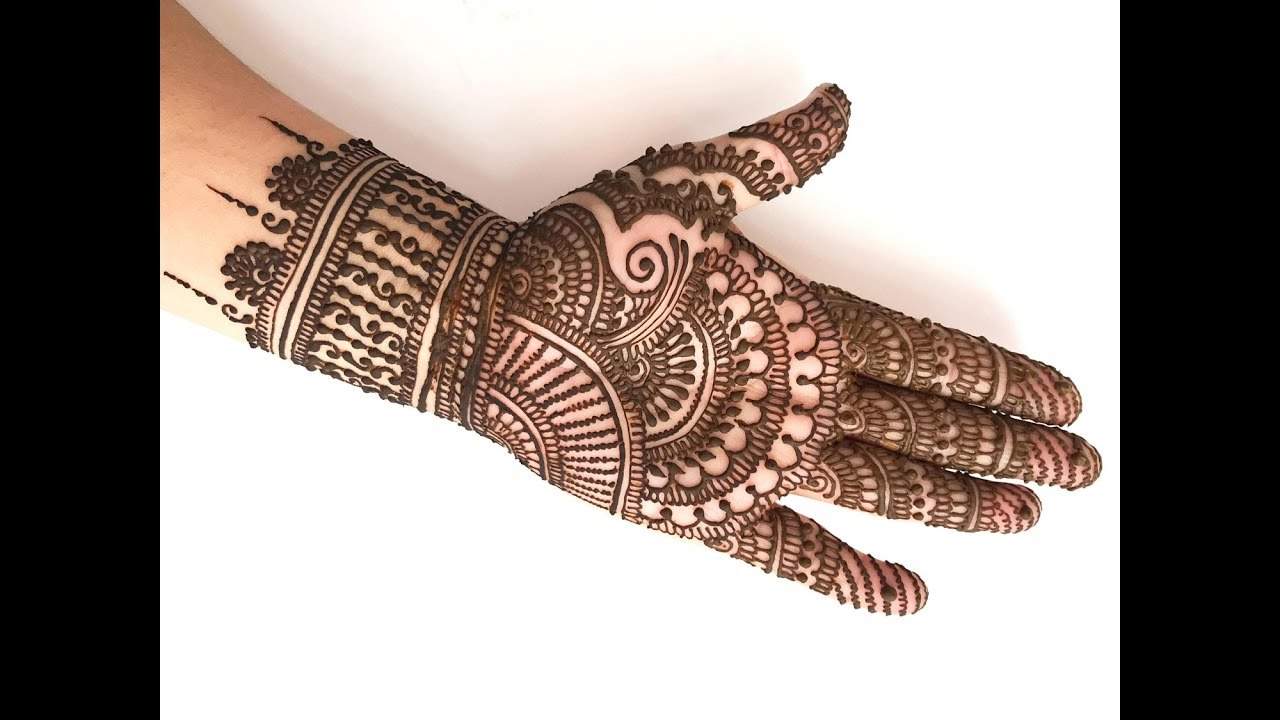 How To Apply Indian Bridal Henna Mehndi Design Like A Professional