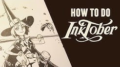 How To Do Inktober!