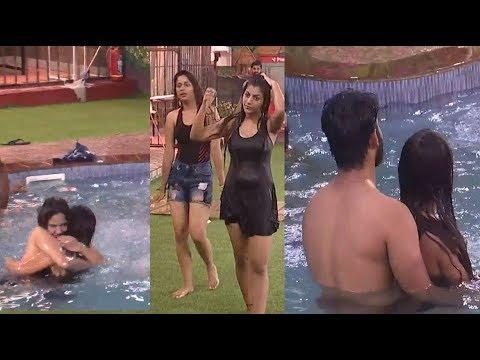 Aishwarya Reveals Her True Character In Swimming Pool? Bigg Boss 2 Tamil Day 53 Midnight Masala thumbnail