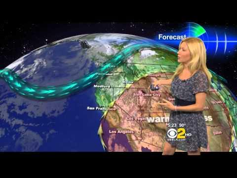Jackie Johnson 2012/08/29 CBS2 HD