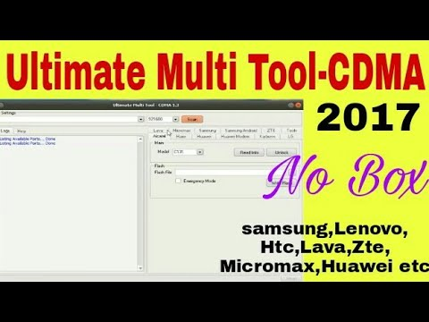 Utimate Multi Tool-CDMA 1 3 | umt box 2017 | Without box | Latest