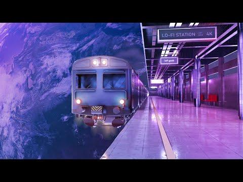 4K 🔴 Lofi Space Station 🚀 Aesthetic Lofi Beats To Chill / Study To 🌌 Lofi Radio 24/7