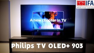 Philips OLED+ 903 TV + Bowers …