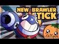 NEW BRAWLER TICK - MECHA SKINS - Brawl Talk: 27 Star Powers 🍊