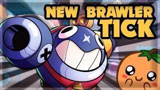 NEW BRAWLER TICK - MECHA SKINS - Brawl Talk: 27 Star Powers ????