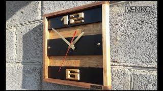 Wall clock in modern design   Настенные часы в современном дизайне