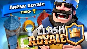 Deck arene 6 7 clash royale youtube for Meilleur deck arene 4
