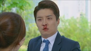 make a woman cry 여자를 울려 17회 in gyo jin nosebleed from both nostrils 인교진 쌍코피 흘려 20150613