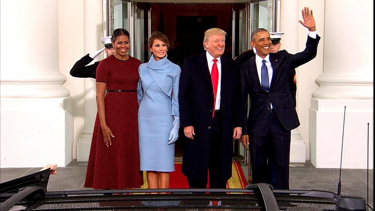 Αποτέλεσμα εικόνας για Trump's Private Moments With Obama