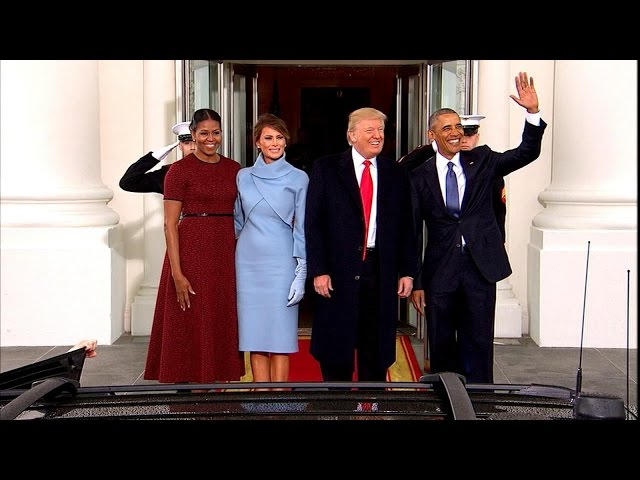 Trump\'s Private Moments With Obama