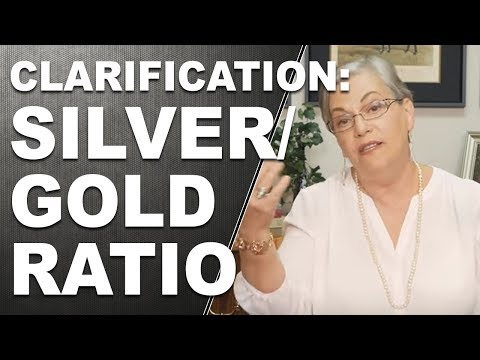 CLARIFICATION: Silver/Gold Ratio (Function Vs Fiat)