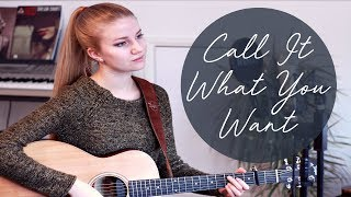 Call It What You Want - Taylor Swift (cover by Cillan Andersson)