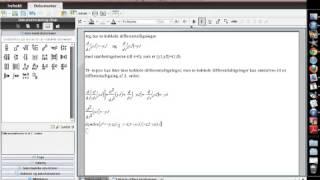 Analytisk løsning af koblede differentialligninger i TI-nspire