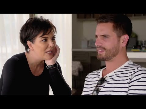 Kris Jenner Grills Scott Disick About Dating Sofia Richie — Watch!