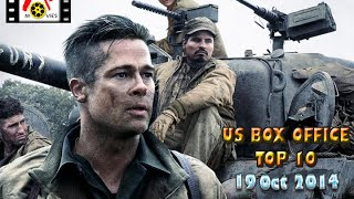 US BOX OFFICE TOP 10 (19 Oct 2014)