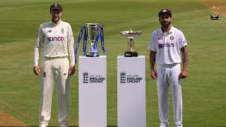 England v India Test Series Preview