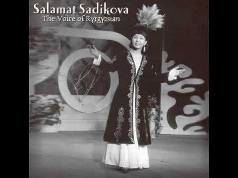 Salamat Sadikova – Qïzïl Gül (Red Flower) [ Kyrgyz Traditional Music ]