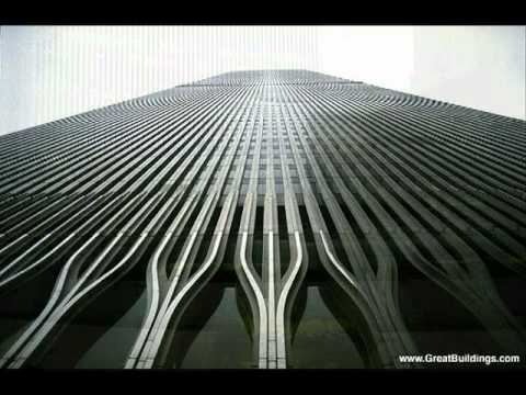 World Trade Center Tribute - Twin Towers construction
