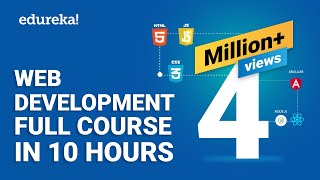Web Development Full Course 10 Hours Learn Web Development from Scratch Edureka