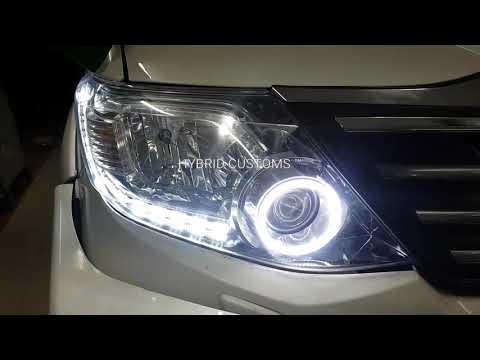 Fortuner Custom Headlamps