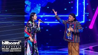 BILLBOARD INDONESIA MUSIC AWARDS 2020 - Didi Kempot X Isyana Sarasvati