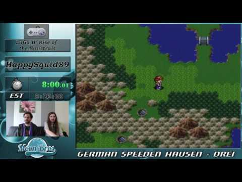 GSH 3 - Lufia II: Rise of the Sinistrals 100% Speedrun by HappySquid89